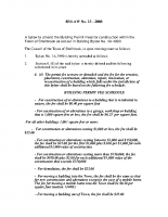 Building Permit Bylaw